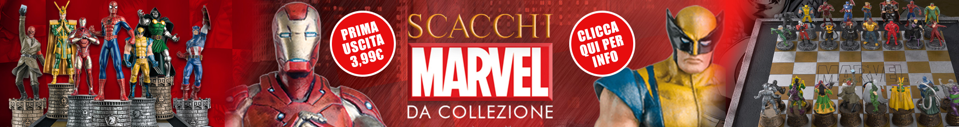 scacchi marvel collection