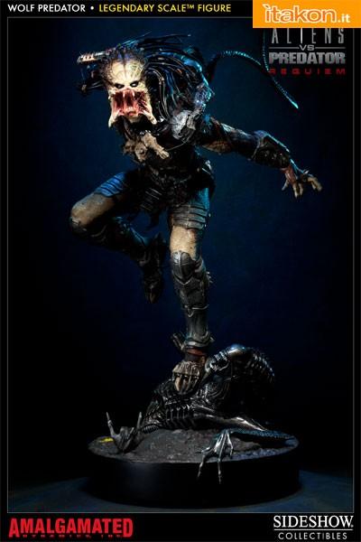 Dolls da tutto il mondo Wolf Predator Mask Sideshow