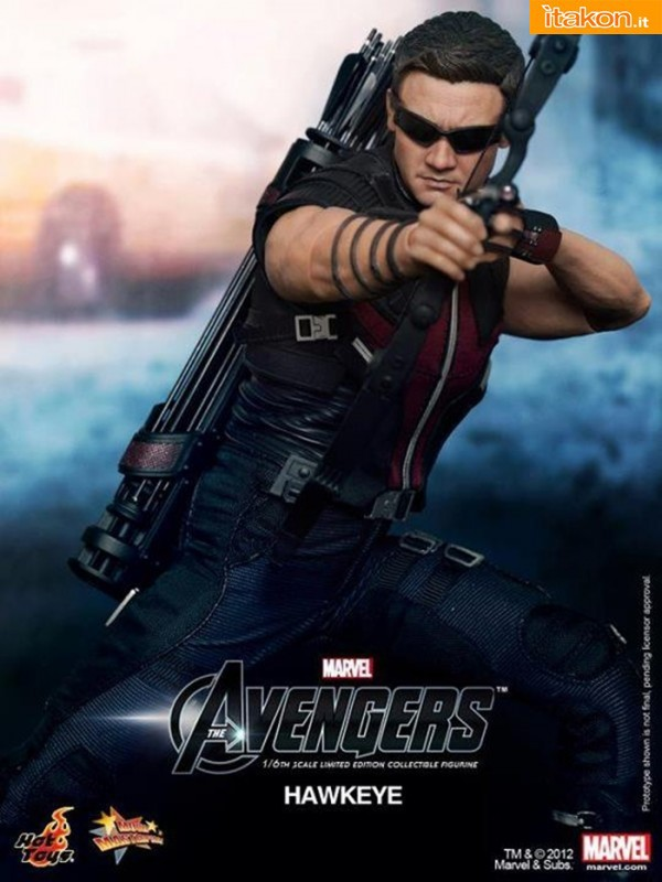 Hot Toys: MMS172 - The Avengers: Hawkeye 1/6 Limited Edition - Immagini Ufficiali