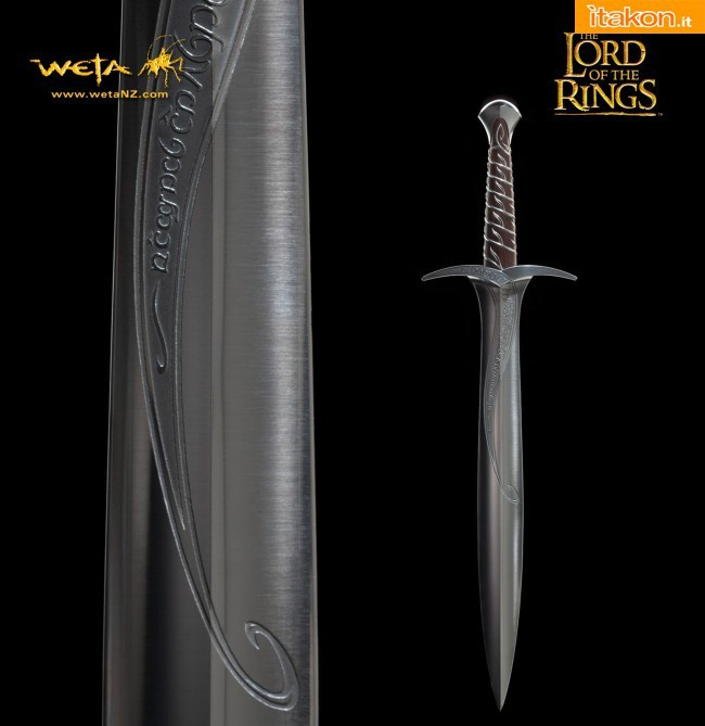 Weta: The Lord Of The Rings - STING: Fine Art Limited Edition - Prop Replica