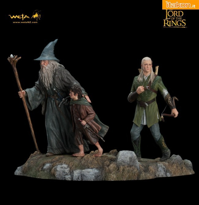 Weta Collectibles: The Lord Of The Rings: The Fellowship Of The Ring - Set 1