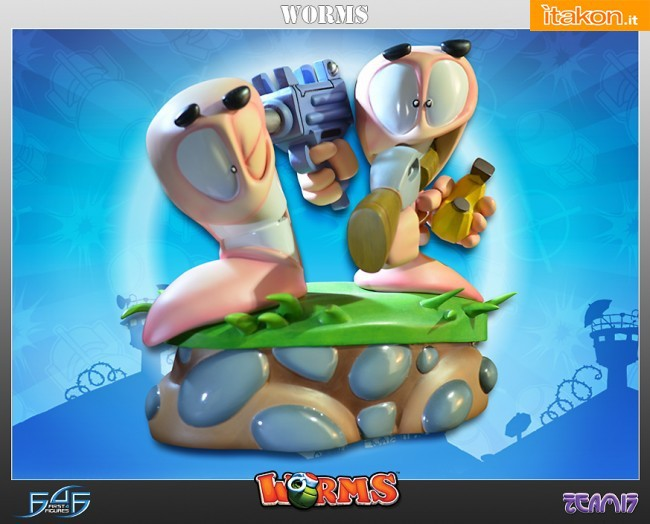 Armageddon Diorama Exclusive Worms 2