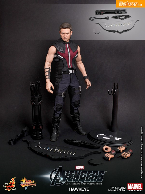Hot Toys - The Avengers - Hawkeye Limited Edition Collectible Figurine_PR17