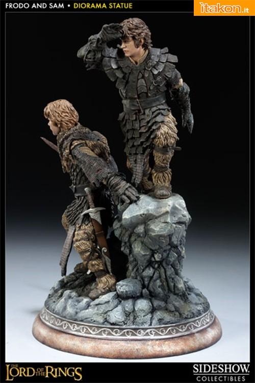 LOTR: Frodo and Samwise Polystone Statue da Sideshow - Immagini Ufficiali e Info Preordini