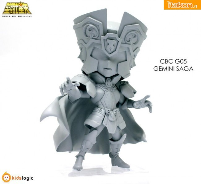 Anteprima Burning Collection G05 Gemini Saga da Kids Logic