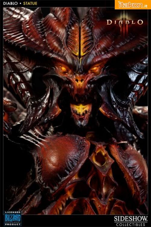 Diablo III : Diablo Polystone Statue da Sideshow - Immagini Ufficiali