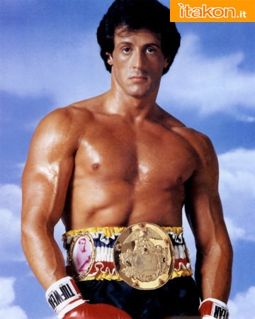 Rocky World Championship Belt Prop Replica