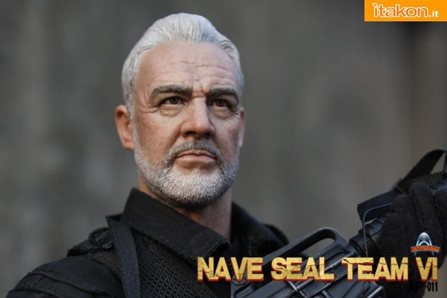 The Rock: L'action doll di John Patrick Mason(Sean Connery) dalla Art Figures