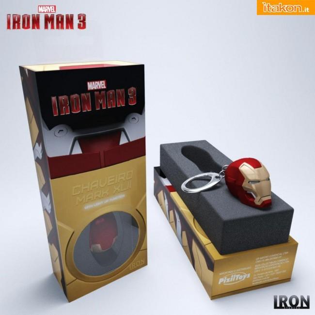 Dalla Iron Studios e' in arrivo il portachiavi di Iron Man Mark XLII