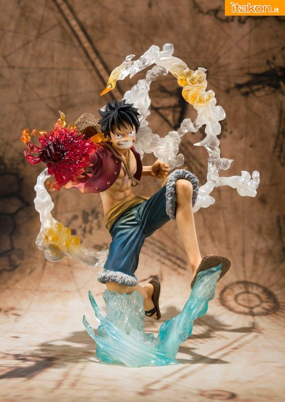 Bandai - One Piece - Luffy - Figuarts Zero 2