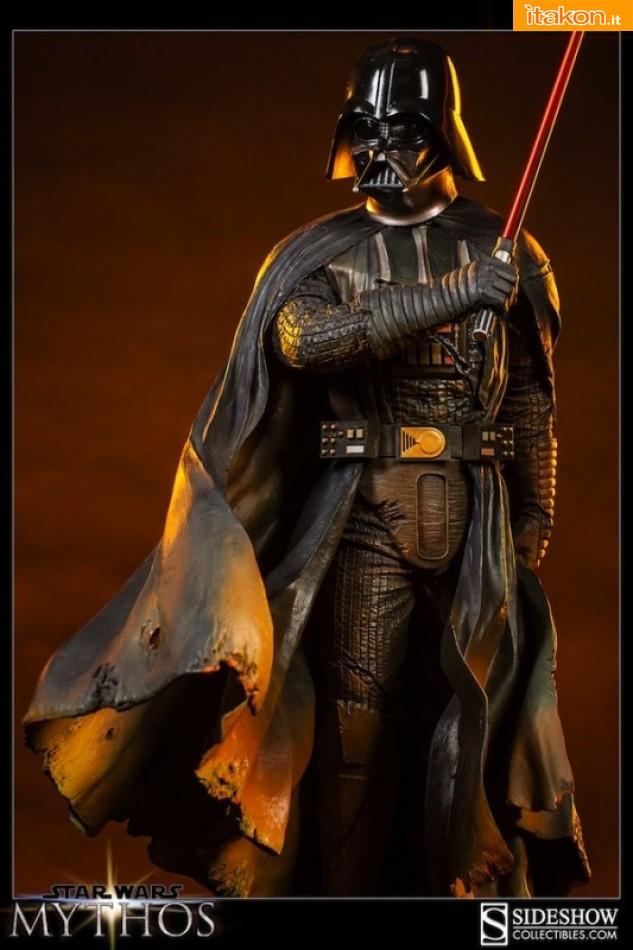Link a Mythos Darh Vader statue (1)