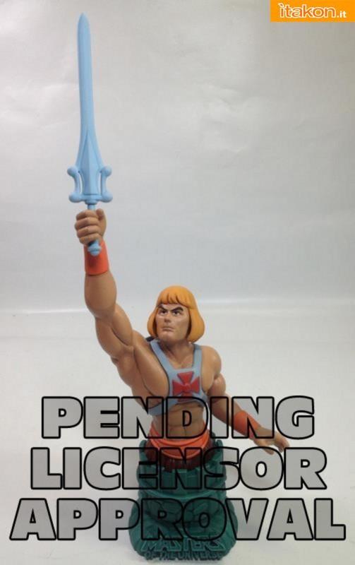 Icon Heroes: In narrivo il mini-busto 1/6 di He-Man