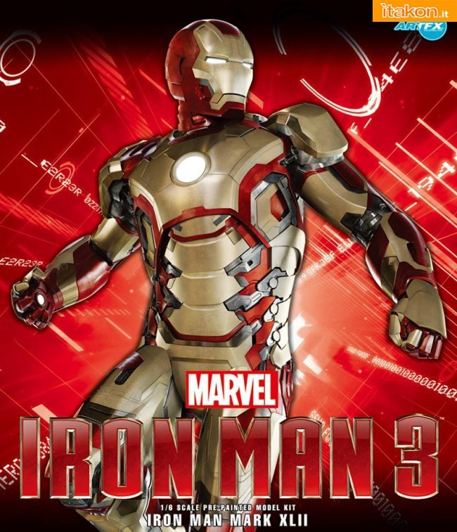 MarK 42 ARTFX statue model Kit di Kotobukiya