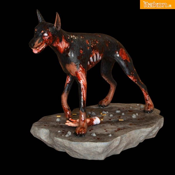SDCC 2013: Residente Evil Zombie cane Cerbero statue di Hollywood Collectibles