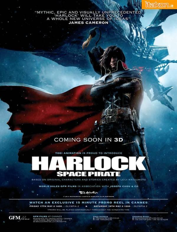 Harlock film poster locandina