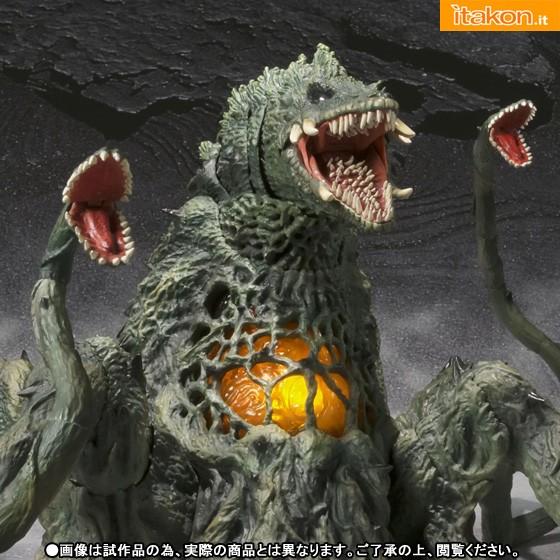 S.H. Monster Arts Biollante di Bandai