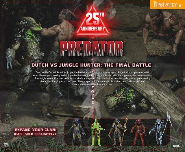 [NECA] 25th Anniversary Predator: Dutch vs Jungle Hunter 9449244362_bfe6441cfb_z