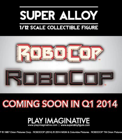 Super Alloy: Robocop 1/12 Collectible Figure di Play Imaginative - Annuncio Ufficiale