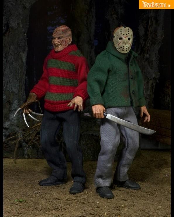 [NECA] Freddy Krueger & Jason Voorhees (Vintage Edition) NECARetroHorrorFJ1