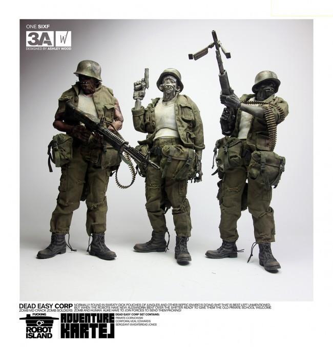Dead Easy Corp 1/6 action figure di TreeA Toys