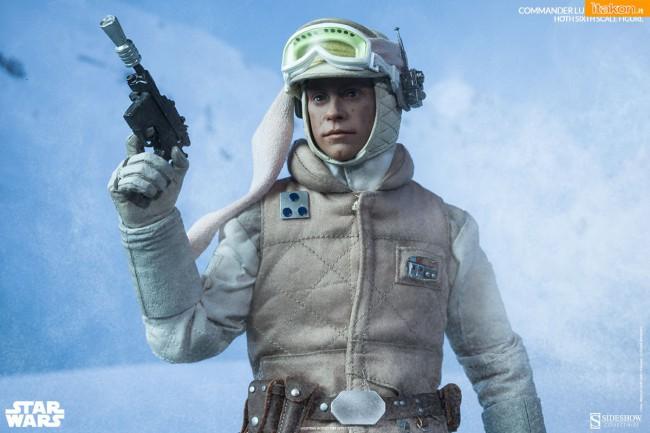 [Sideshow] Star Wars: Commander Luke Skywalker - Hoth Sixth Scale Figures A45-650x433