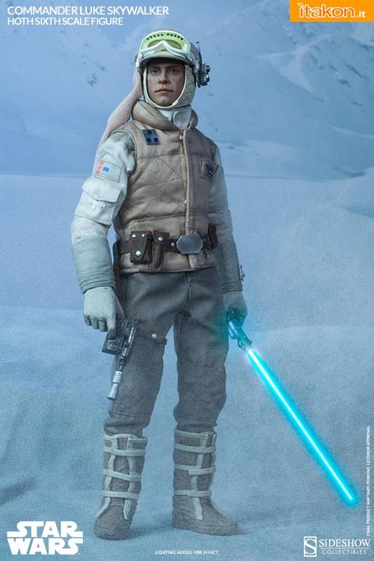 [Sideshow] Star Wars: Commander Luke Skywalker - Hoth Sixth Scale Figures A63