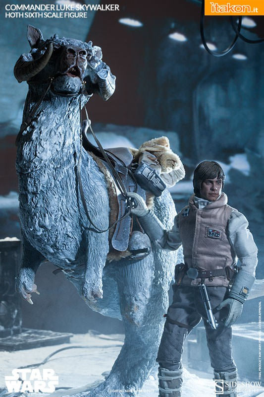 [Sideshow] Star Wars: Commander Luke Skywalker - Hoth Sixth Scale Figures A72