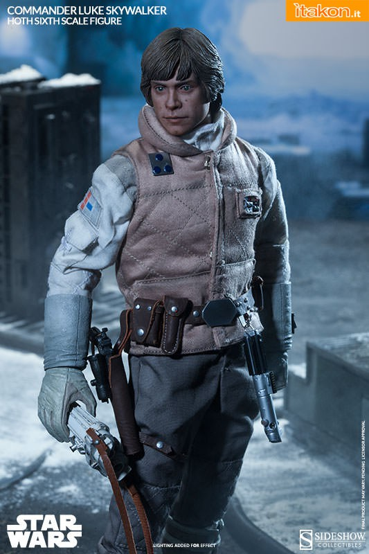[Sideshow] Star Wars: Commander Luke Skywalker - Hoth Sixth Scale Figures A82