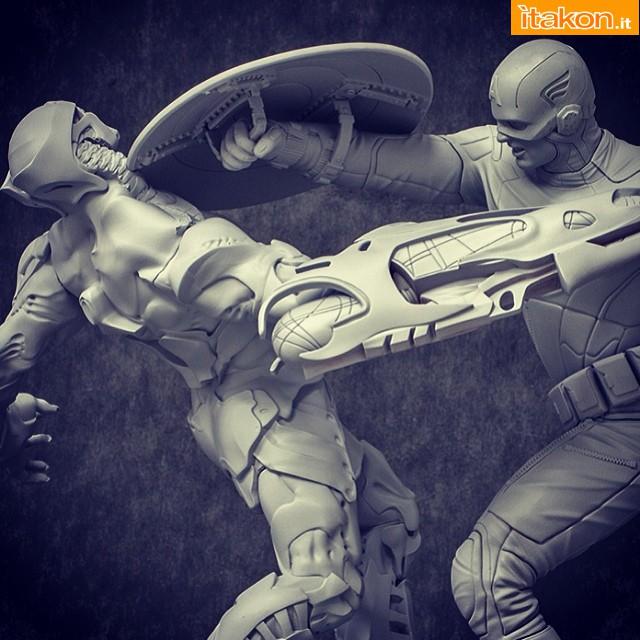 [Iron Studios] The Avengers: Captain America Statue 1/6 scale 32