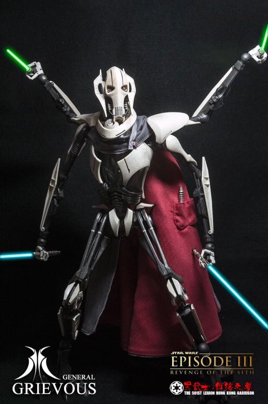 [SideShow] Star Wars: General Grievous 1/6th Scale Figure - Página 4 General-Grievous-16-532x800