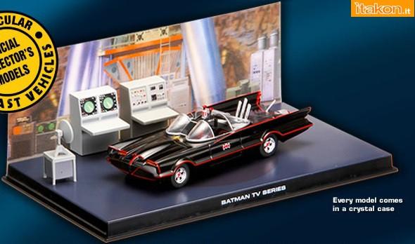 batmobile serie tv On edicola collezioni