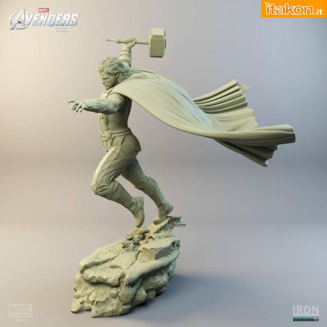 [Iron Studios] Diorama The Avengers: Thor Statue 1/6 scale Thor-iron-studios-1