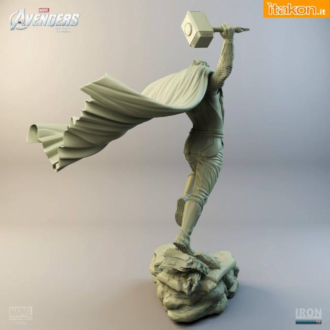 [Iron Studios] Diorama The Avengers: Thor Statue 1/6 scale Thor-iron-studios-3