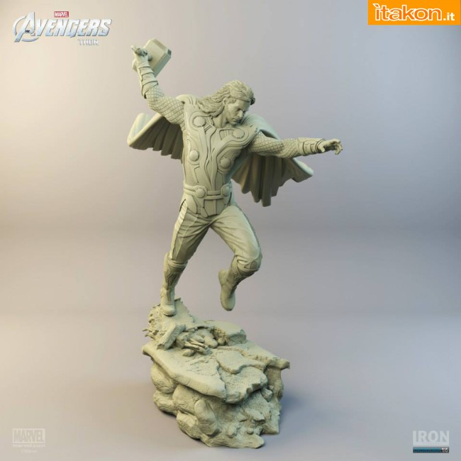 [Iron Studios] Diorama The Avengers: Thor Statue 1/6 scale Thor-iron-studios-4