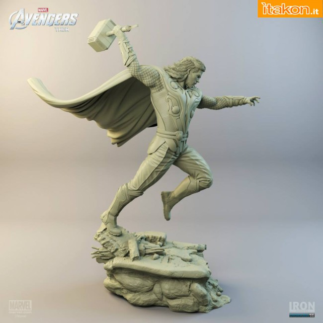 [Iron Studios] Diorama The Avengers: Thor Statue 1/6 scale Thor-iron-studios-5