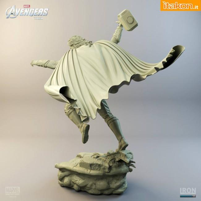 [Iron Studios] Diorama The Avengers: Thor Statue 1/6 scale Thor-iron-studios-6