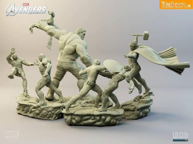 [Iron Studios] Diorama The Avengers: Thor Statue 1/6 scale Thor-iron-studios-7
