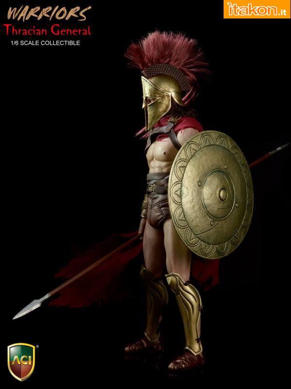 [ACI Toys] Thracian General ACI-19 1/6 scale figure Ac04