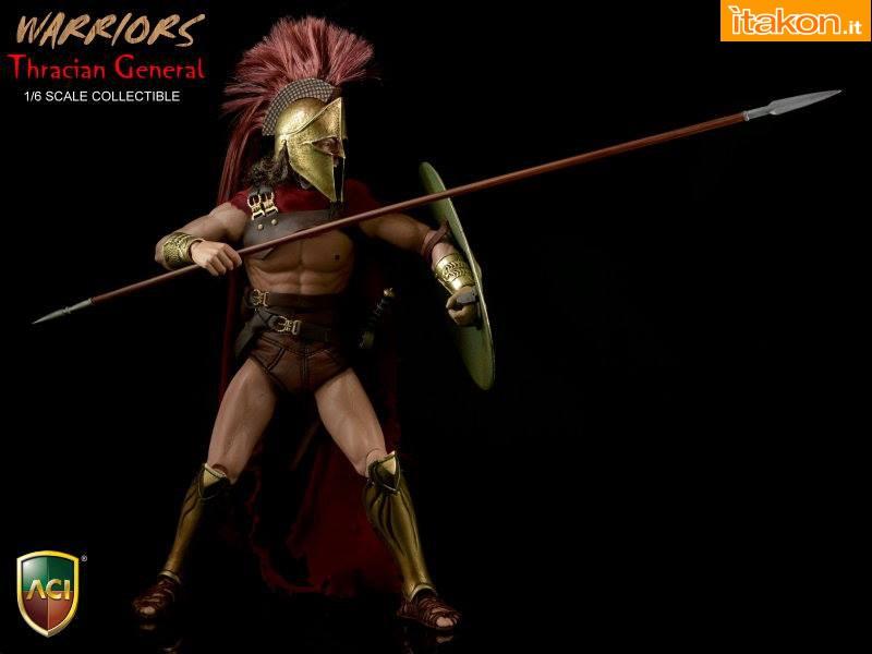 [ACI Toys] Thracian General ACI-19 1/6 scale figure Ac16