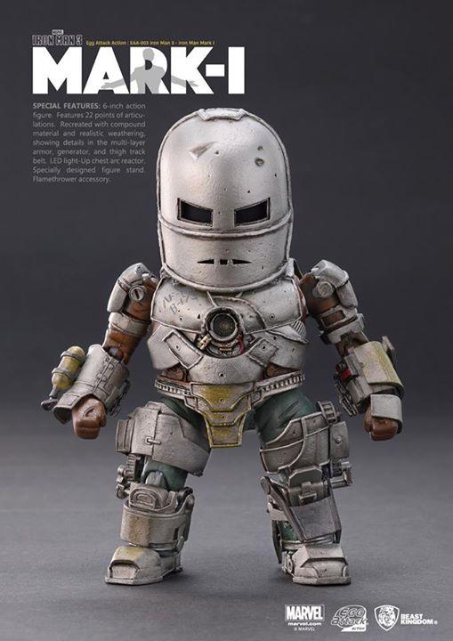 [Beast Kingdom] Iron Man 3 - Iron Man Mark I – Egg Attack Action 216