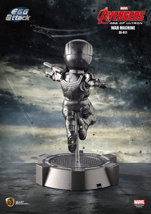 [Beast Kingdom] Avengers: AoU - War Machine – Egg Attack Action 311