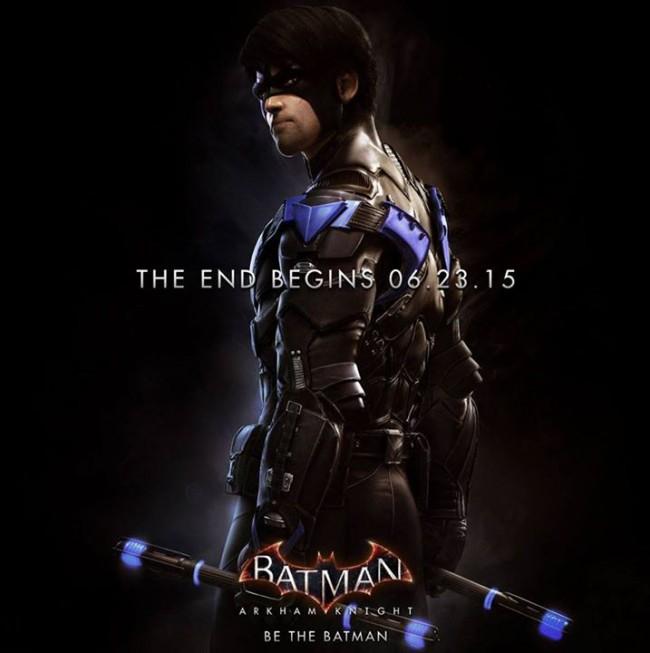[Prime 1 Studio] Museum Masterline | Batman: Arkham Knight - Nightwing Prime-1-Studio-Batmobile-e-Nightwing-1-650x653