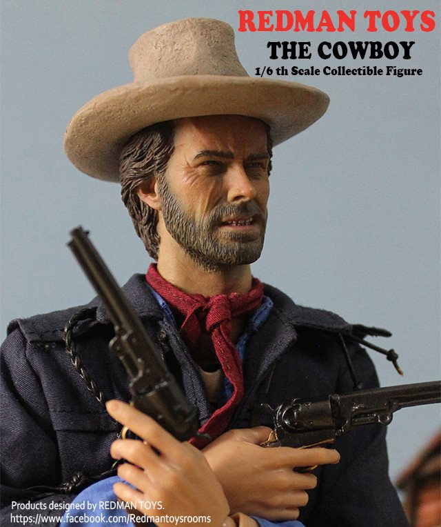[Redman Toys] The Outlaw COWBOY 1/6 A28