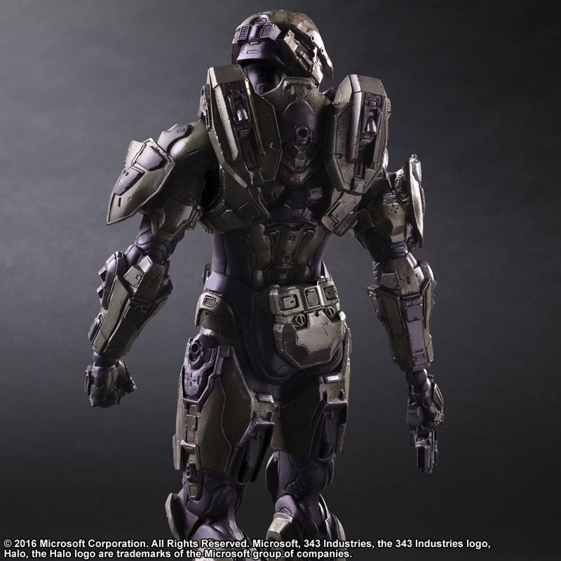 Link a Halo 5 Guardians Master Chief – Play Arts Kai Square Enix pre 02