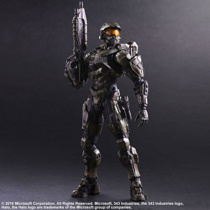 Link a Halo 5 Guardians Master Chief – Play Arts Kai Square Enix pre 03