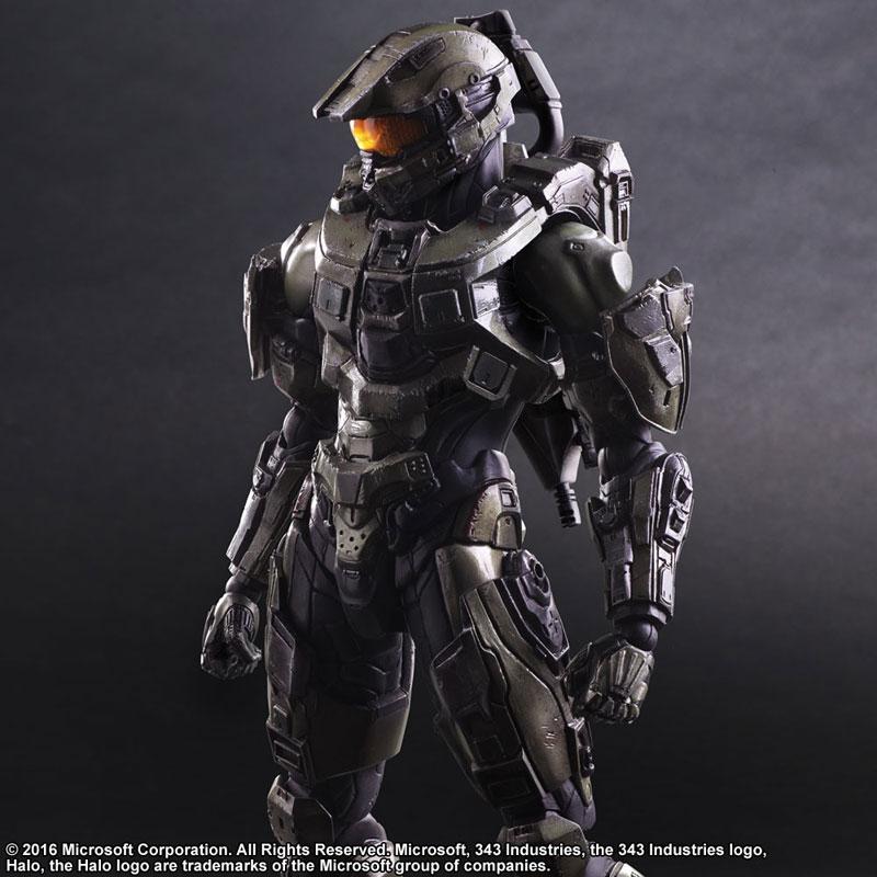 Link a Halo 5 Guardians Master Chief – Play Arts Kai Square Enix pre 04
