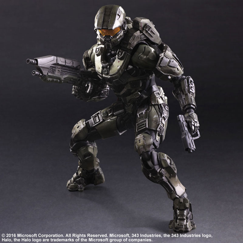 Link a Halo 5 Guardians Master Chief – Play Arts Kai Square Enix pre 05