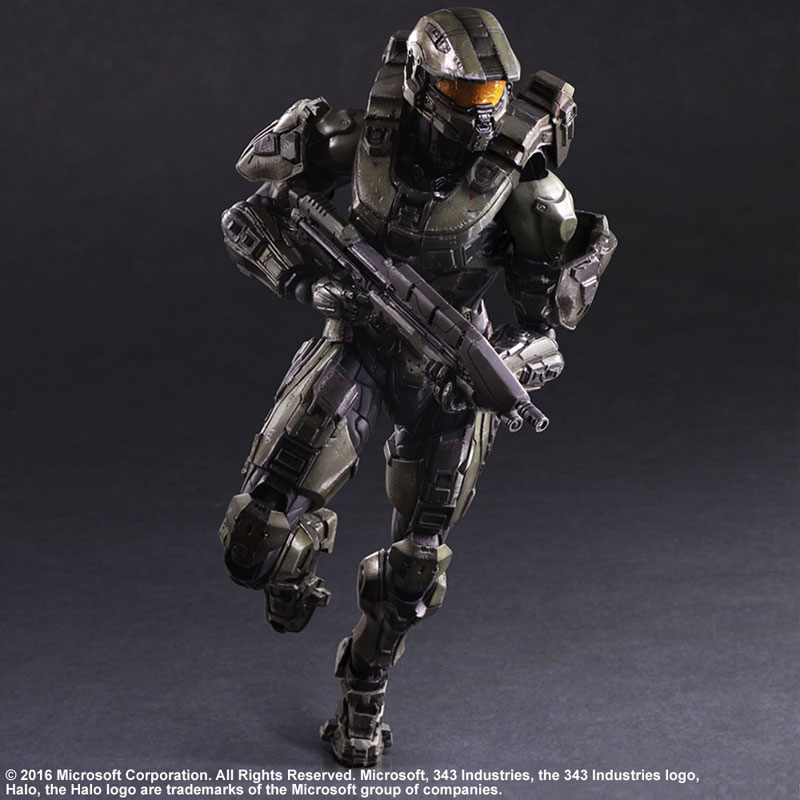 Link a Halo 5 Guardians Master Chief – Play Arts Kai Square Enix pre 06