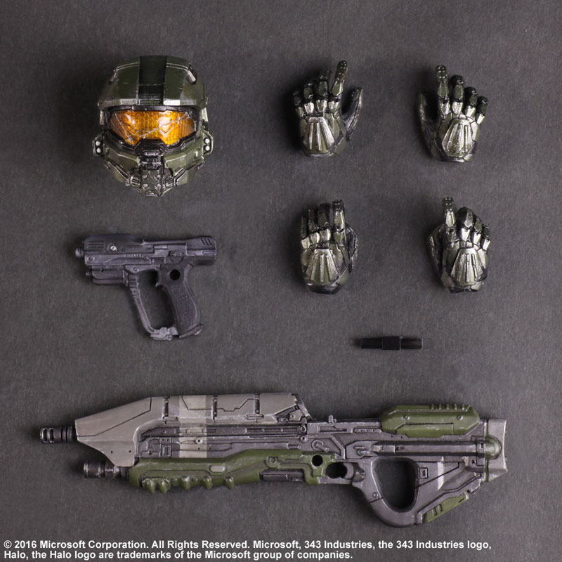 Link a Halo 5 Guardians Master Chief – Play Arts Kai Square Enix pre 08