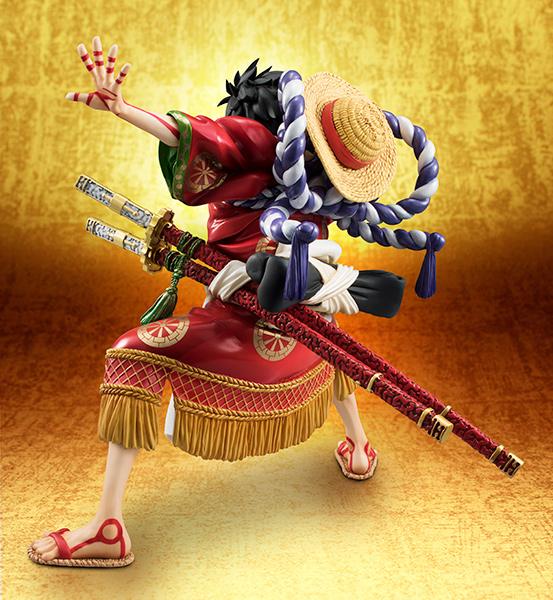 Link a Monkey D Luffy Kabuki POP – One Piece MegaHouse pre 08